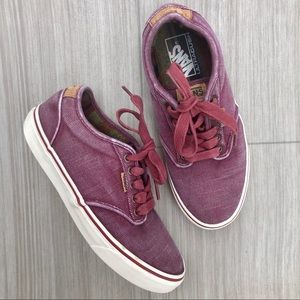 Vans Ultracush Burgundy Size 7